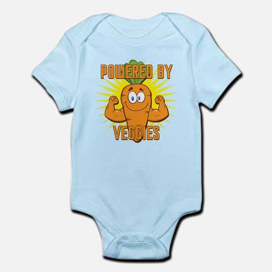 Powered by Veggies Infant Bodysuit