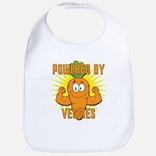 Powered by Veggies Bib