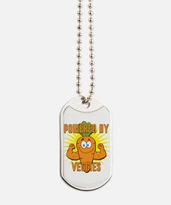 Powered by Veggies Dog Tags
