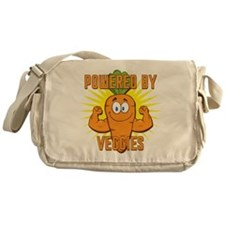 Powered by Veggies Messenger Bag