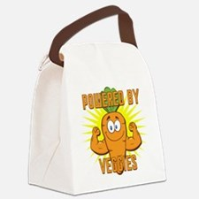 Powered by Veggies Canvas Lunch Bag