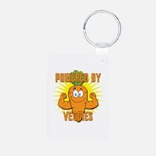 Powered by Veggies Keychains