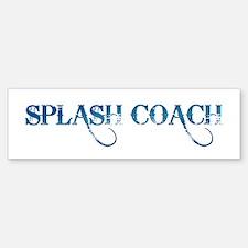 Splash Coach Revised Bumper Bumper Bumper Sticker