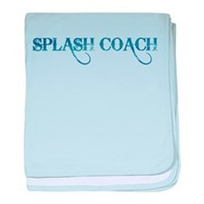 Splash Coach revised baby blanket