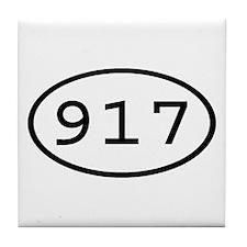 917 Oval Tile Coaster
