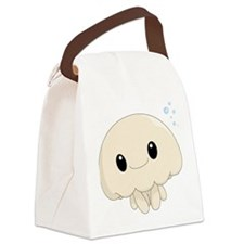 Chibi Jellyfish Canvas Lunch Bag