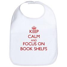 Cute Book shelves Bib