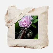 Summer Rose Garden Shotgun  Tote Bag