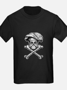 Chef Skull and Crossbones T-Shirt