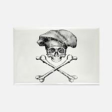 Chef Skull and Crossbones Magnets