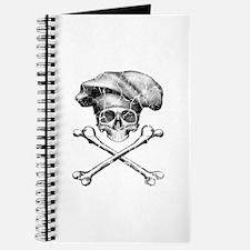 Chef Skull and Crossbones Journal