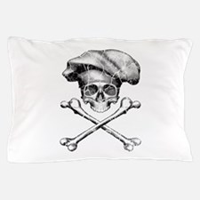 Chef Skull and Crossbones Pillow Case