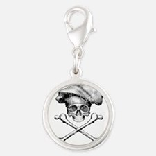Chef Skull and Crossbones Charms