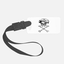 Chef Skull and Crossbones Luggage Tag