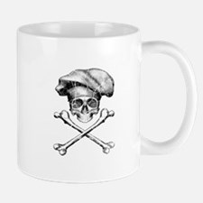 Chef Skull and Crossbones Mugs