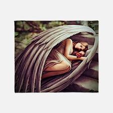Angel Rose Throw Blanket