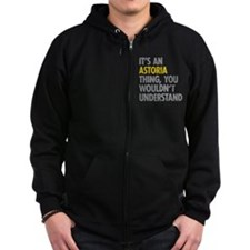 Astoria Thing Zip Hoodie