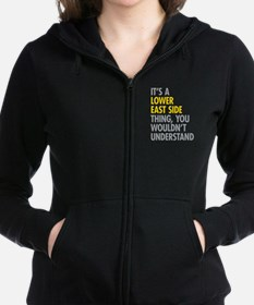 Lower East Side Thing Women's Zip Hoodie