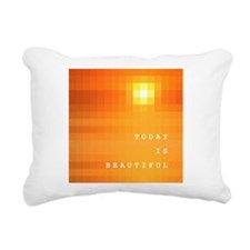 Today is Beautiful Rectangular Canvas Pillow