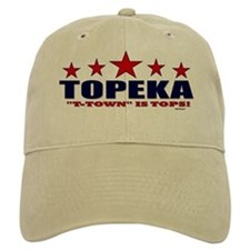 Topeka T-Town Is Tops Baseball Cap