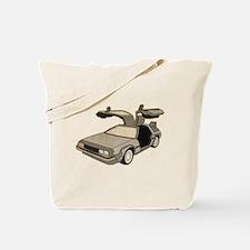 Delorean West Tote Bag