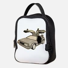 Delorean West Neoprene Lunch Bag