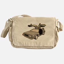 Delorean West Messenger Bag
