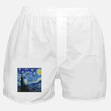 VAN GOGH STARRY NIGHT Boxer Shorts