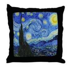 VAN GOGH STARRY NIGHT Throw Pillow