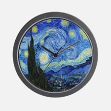 VAN GOGH STARRY NIGHT Wall Clock