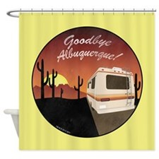 Goodbye Albuquerque Shower Curtain
