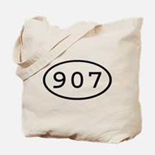 907 Oval Tote Bag