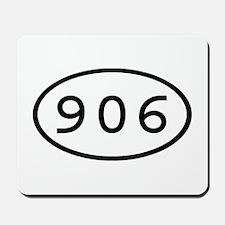 906 Oval Mousepad