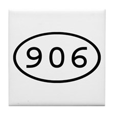 906 Oval Tile Coaster