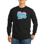 Baby Bump Long Sleeve Dark T-Shirt