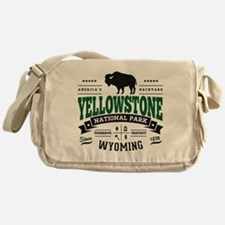 Yellowstone Vintage Messenger Bag