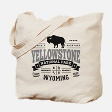Yellowstone Vintage Tote Bag