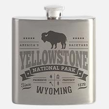 Yellowstone Vintage Flask