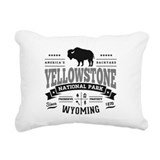 Yellowstone national park Rectangle Canvas Pillows