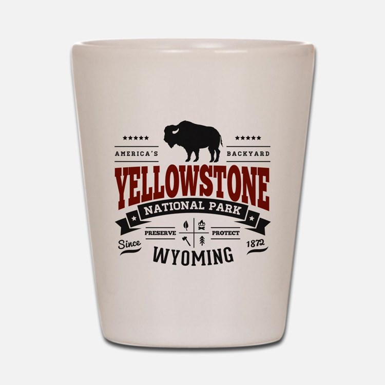 Yellowstone Vintage Shot Glass