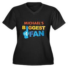 Biggest Fan Sports Design Plus Size T-Shirt