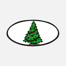 Decorated Christmas Tree & gifts Patches
