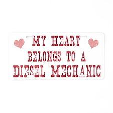 Cute Diesel Aluminum License Plate
