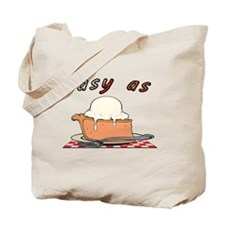 easy as pie Tote Bag