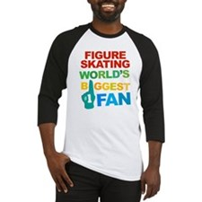 Figure Skating Fan Baseball Jersey
