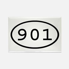 901 Oval Rectangle Magnet