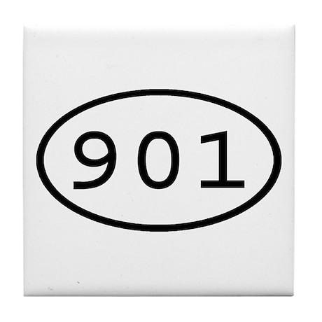 901 Oval Tile Coaster