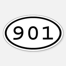 901 Oval Oval Decal