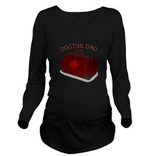 Doctor Dad Long Sleeve Maternity T-Shirt