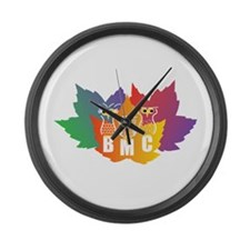 BMC Autumn Owls Large Wall Clock